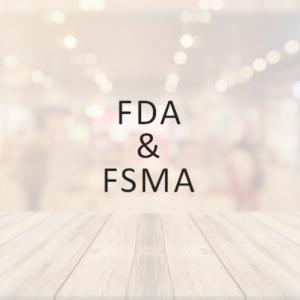 FDA & FSMA